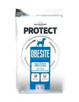 Flatazor Pro-Nutrition Protect Obesite - Пълноценна, високо протеинна (75%),диетична храна за кучета с наднормено тегло над 1 година,с ниска калоричност, с патица, пуйка и свинско месо - 2 кг.