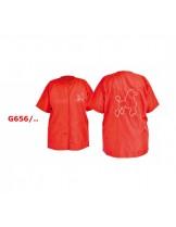 """Camon Grooming apparel - професионална мантия за груминг, Размер """"L"""" - червена"""