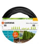 Gardena Start Set for Rows of Plants L - стартов комплект за капково напояване за редица от растения - 50 м.