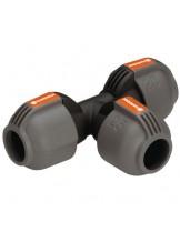 Gardena Т-образно разклонение 25 мм за подземни поливни системи