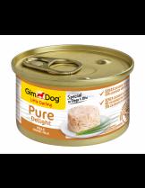 GimDog Little Darling PureDelight Chicken - високо качествена и неустоима консерва с пилешко месо за кучета от 1 до 10 кг. - 85 гр.
