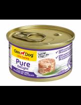 GimDog Little Darling PureDelight Chicken Tuna - високо качествена и неустоима консерва с пилешко месо и риба тон за кучета от 1 до 10 кг. - 85 гр.