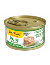 GimDog Little Darling PureDelight Chicken Lamb - високо качествена и неустоима консерва с пилешко и агнешко месо за кучета от 1 до 10 кг. - 85 гр.