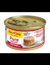 GimDog Little Darling PureDelight Beef Tuna - високо качествена и неустоима консерва с риба тон и говеждо месо за кучета от 1 до 10 кг. - 85 гр.
