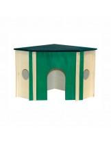 Dr. Clauder - Дървена къщичка за заек - 30x30x25 см.