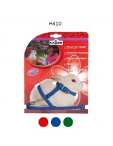 Camon Basic Rabbit set - комплект повод с нагръдник за зайче - 8 mm./1200 mm. - различни цветове