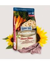 Happy Dog Flocken Vollkost - лесно смилаеми люспи от зърнени култури за особено чувствителни кучета над 1 година - 10 кг.