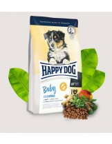 Happy Dog Baby Grainfree - пълноценна храна за подрастващи кученца от 4 седмична до 6 месечна възраст включително - 10 кг.