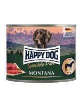 Happy Dog Horse Pur - Консерва от прясно конско месо, без соя, растителни добавки, оцветители или консерванти - 400 гр.