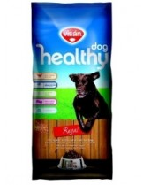 Visan Healthy Dog Adult Regal - суха храна за кучета над 1 година с пилешко месо и пчелно млечице - 15 кг.