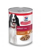 Hill's - Science Plan™ Canine Adult  Savoury Turkey - високо качествена консерва за кучета от всички породи (консерва с пуешко) - 370 гр.