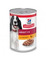 Hill's - Science Plan™ Canine Adult Savoury Chicken - високо качествена консерва за кучета от всички породи (консерва с пилешко) - 370 гр.
