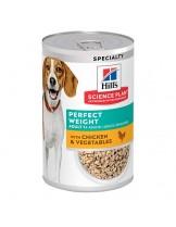 Hill's - Science Plan™ Canine Adult Light with Chicken - високо качествена консерва за поддържане на идеално телесно тегло - (с пилешко) - 370 гр.