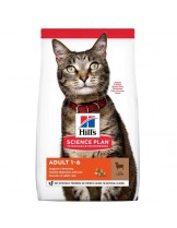 Hill's - Science Plan™ Feline Adult Optimal Care™ Lamb - суха храна за оптимална грижа за котки в зряла възраст с агнешко - 0.400 кг.