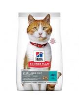 Hill's - Science Plan™ Feline Sterilised Cat Young Adult Tuna - суха храна за млади кастрирани котки от 6 месеца до 6 години (с риба тон) - 0.300 кг.