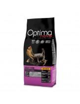 Visan Optima Nova Adult Mini Chicken & Rice (GRAIN FREE) - суха храна за кучета от мини породи, на възраст над 10 месеца без глутен с пиле и ориз - 12 кг.