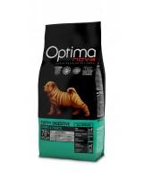 Visan Optima Nova Puppy Digestive Rabbit Potato (GRAIN FREE) - суха храна за кучета склонни към храносмилателни проблеми, подходяща за всички породи, на възраст от 2 до 12 месеца без глутен със заек и картофи - 12 кг.