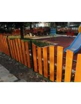 "Ограда за детски площадки ""Натура"" - Височина 60 см. - цената е за 1 линеен метър"