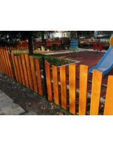 "Ограда за детски площадки ""Натура"" - Височина 80 см.  - цената е за 1 линеен метър"