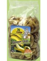 JR Farm - Натурални, изсушени бананови резенчета за гризачи - 150 гр.