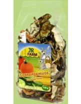 JR Farm - Специалитет, лакомство - Сушени зеленчуци за гризачи - 80 гр.