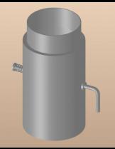 Димоотводен Преходник с клапа DTRD 150/120