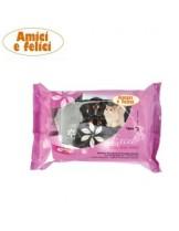 Camon Cleaning wipes excel - мокри кърпички за почистване с алое вера - 40 бр.