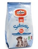 Camon - Кърпички за почистване с аромат на кехлибар - 80 бр.