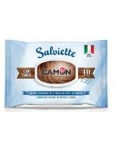 Camon - Salviette - Почистващи кърпички с аромат на Бяло дърво - 40 бр.
