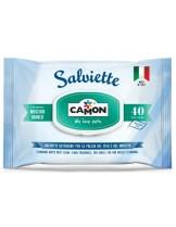 Camon - Salviette MUSCHIO BIANCO - Мокри Кърпички - 40 бр.