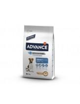 Advance Dog Mini Adult - ганулирана суха храна за израстнали кучета (от 8 месеца до 8 години) от дребните породи (до 10кг в зряла възраст) - 7.5 кг.