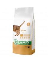 NATURE'S Protection - Indoor - Super Premium суха храна за котки над 1 година, живеещи в затворени помещения - с пилешко месо - 7 кг.