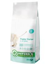 NATURE'S Protection - Starter - Super Premium суха храна за отбиване на малките кученца от всички породи от 4 до 12 седмична възръст - с пилешко месо - 2 кг.