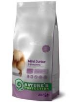 NATURE'S Protection - Mini Junior - Super Premium суха храна за подрастващи кученца от малките породи (до 10 кг.) от 2 до 8 месечна възръст - с пилешко месо - 2 кг.