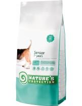 NATURE'S Protection - Dog Senior - Super Premium суха храна за кучета от средни и големи породи (над 10 кг.) над 7 годишна възръст - с пилешко месо - 12 кг.