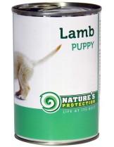 NATURE'S Protection - Puppy Lamb - Високо качествена консера  за подрастващи  кучета до 1 година с  агнешко месо - 0.200 кг