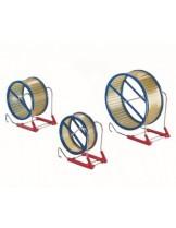 Nobby - Hamsterrolle aus Kunststoff - меално колело за хамстери - различни цветове - 15 см.