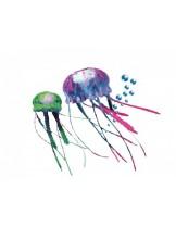"Nobby - Fantasy Decor ""QUALLE"" Sortiment - Декорация за аквариум - 5.5 - 3.5 см."