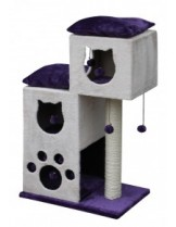 Nobby - Aran - катерушка/драскалка с хралупа за котки - 60х40х93 см.