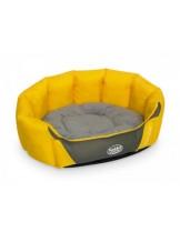 "Nobby - Komfort Bett oval ""GOLINA"" - Меко, плюшено легло за домашни любимци - 45x40x19 см."