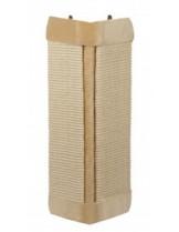 Nobby - Kratzecke mit Plüsch - ъглова драскалка за котки - 61х32 см. - беава