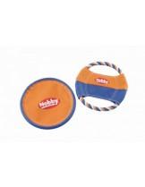 Nobby - Nylon Fly-Disc mit Baumwollring - фрисби за куче от въже и плат - 23 см.
