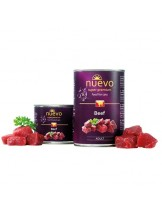 Nuevo Super Premium food for Cats - Beef - Високо качествена консерва за котки над 1 година с говеждо месо - 0.200 кг.