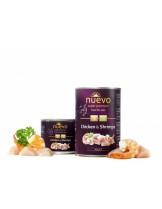 Nuevo Super Premium food for Cats - Chicken & Shsimps - Високо качествена консерва за котки над 1 година с пилешко месо и скариди - 0.200 кг.