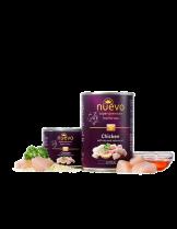 Nuevo Super Premium food for Cats Kitten - Chicken & Rise - Високо качествена консерва за котки до 1 година с пилешко месо и ориз - 0.200 кг.