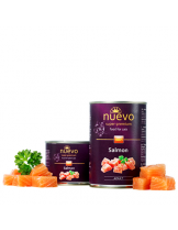 Nuevo Super Premium food for Cats - Salmon - Високо качествена консерва за котки над 1 година с месо от сьомга - 0.200 кг.
