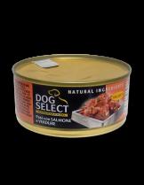 Dog Select - ПАСТЕТ -СЬОМГА И ЗЕЛЕНЧУЦИ - 0.165 кг.