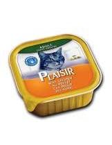 Plaisir Cat with Chicken - неустоим пастет за котки над 1 година с пилешко месо - 100 гр.