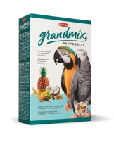 Padovan - Pappagalli GrandMix - премиум храна МИКС от много плодове и ядки за големи папагали - 2 кг.