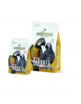 Wellness - Премиум храна за големи папагали - жако, ара, амазонки - 0.750 кг.